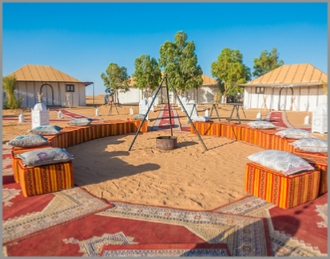 Camel Trek and 2 nights in desert camp