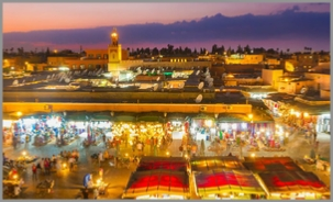 6 day Tour from Chefchaouen to Fes, desert and Marrakech